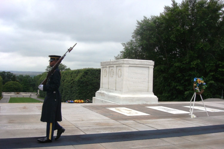 Arlington Cemetary Tomb of the Unknown Soldier