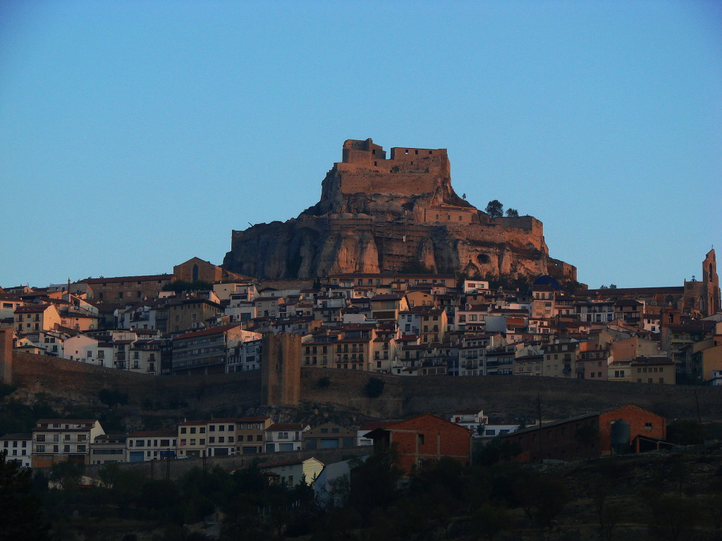 Ancient walled city of Morella