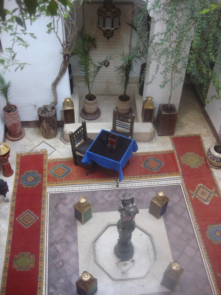 Courtyard of Riad Dar Eliane