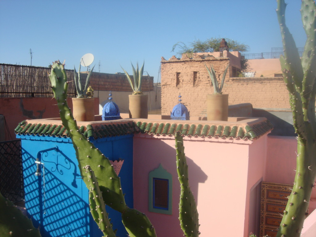 Rooftop Terrace at Riad Dar Eliane
