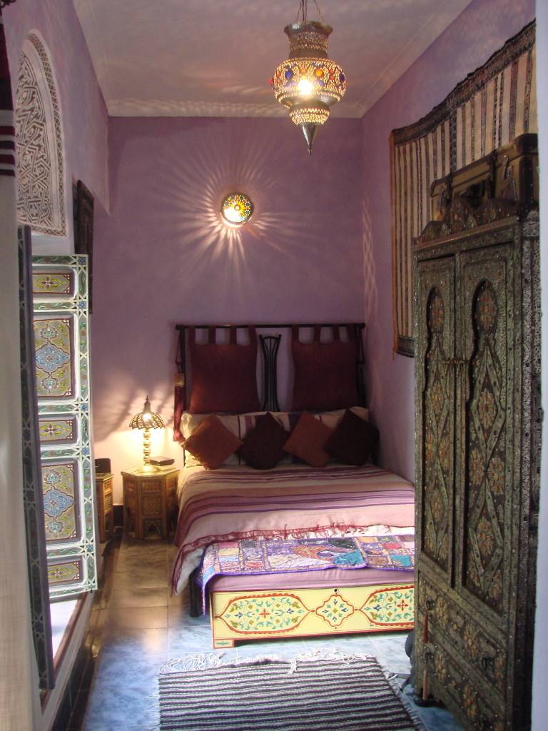 Our room at Riad Dar Eliane