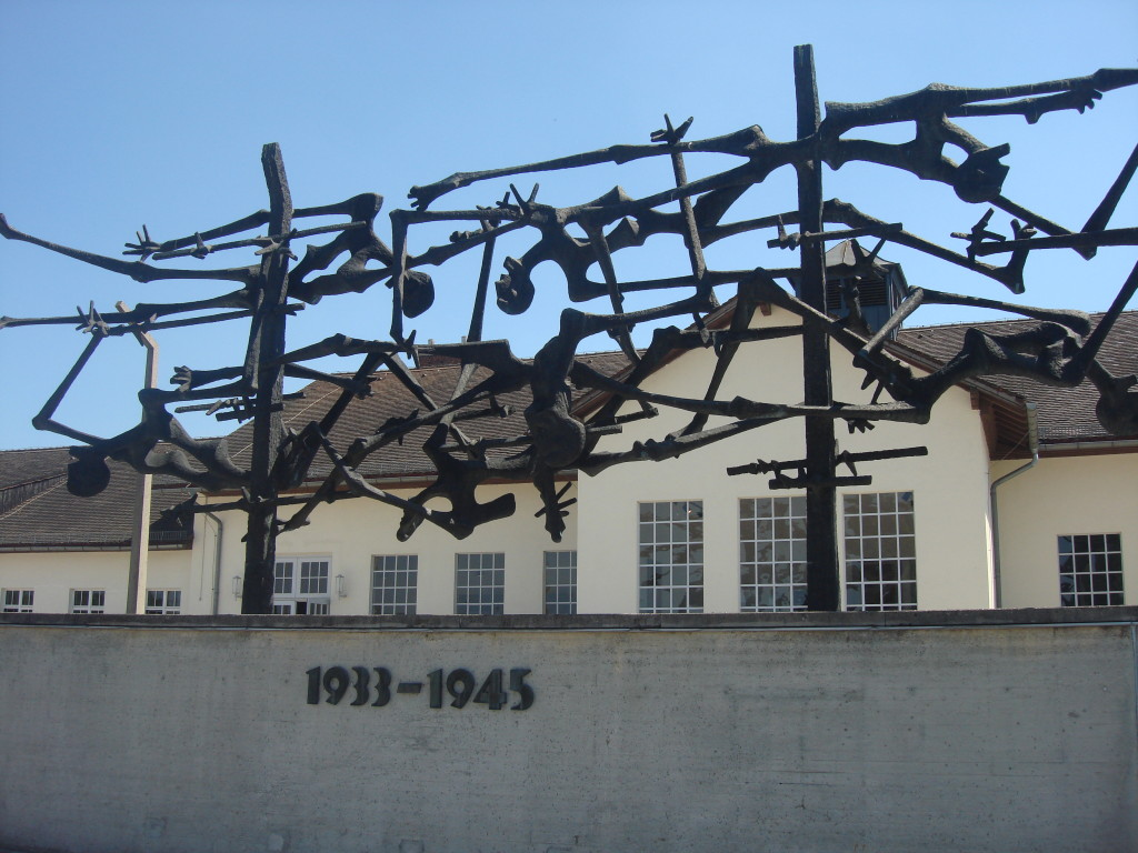 Memorial at Dachau which operated from 1933-1945