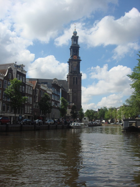 Westerkerk Church next to Anne Frank House
