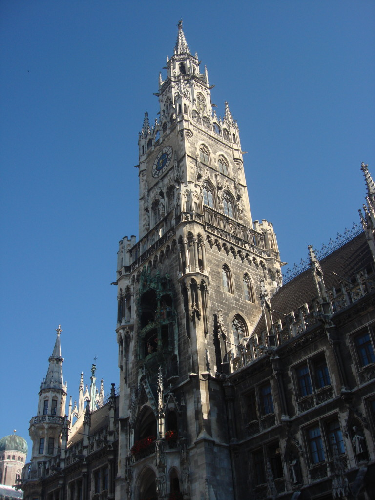 Marienplatz square in Munich