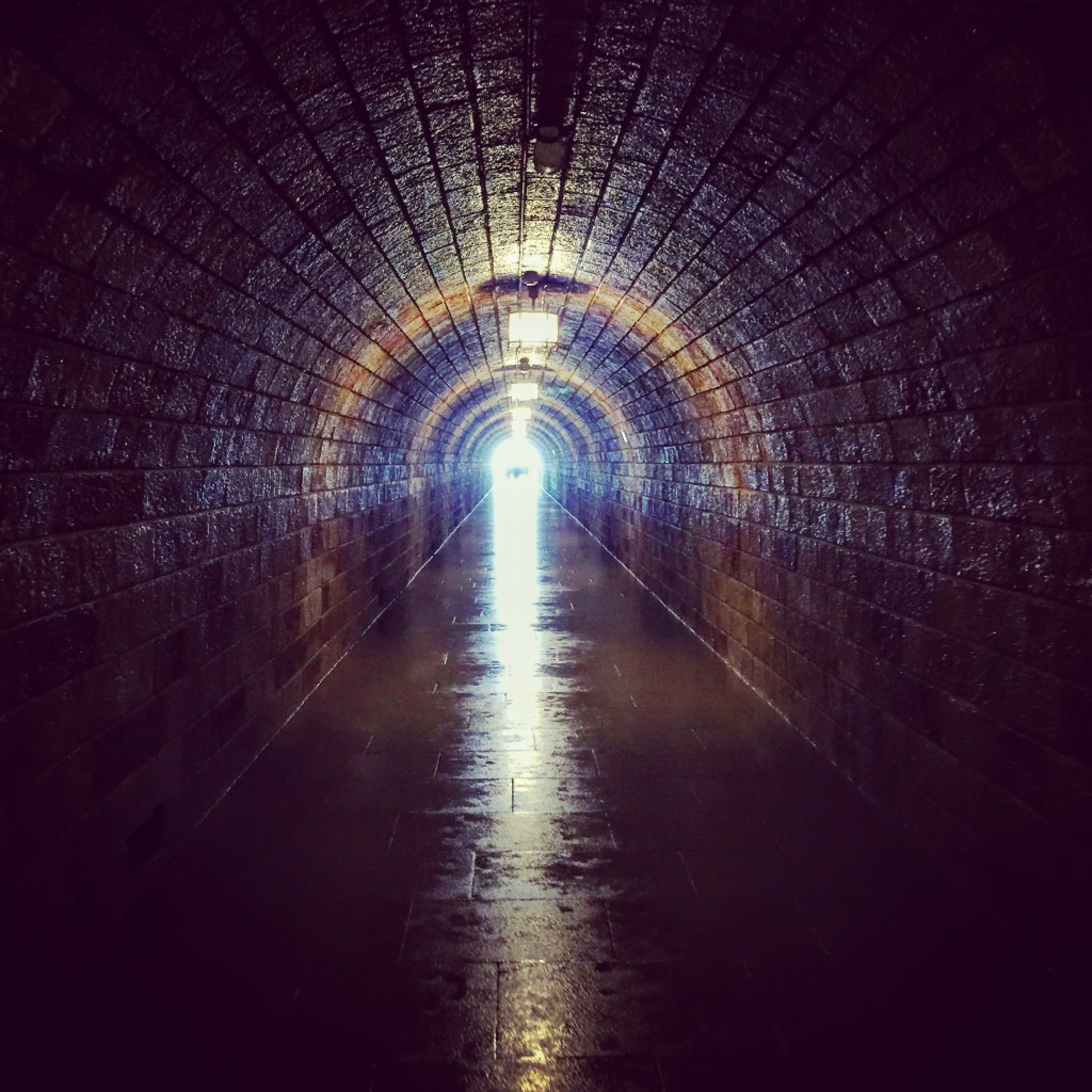400 foot tunnel entrance